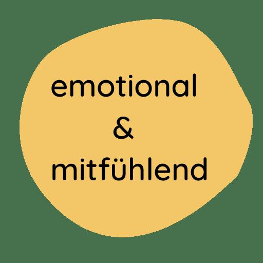 emotional und mitfühlend- einer der Werte von weddingmoments